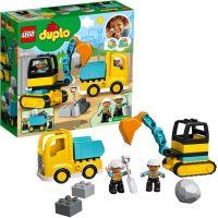 LEGO Duplo Town 10391 Náklaďák a pásový bagr