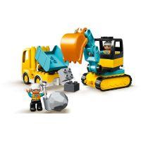 LEGO Duplo Town 10391 Náklaďák a pásový bagr 4