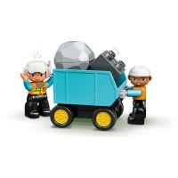 LEGO Duplo Town 10391 Náklaďák a pásový bagr 6
