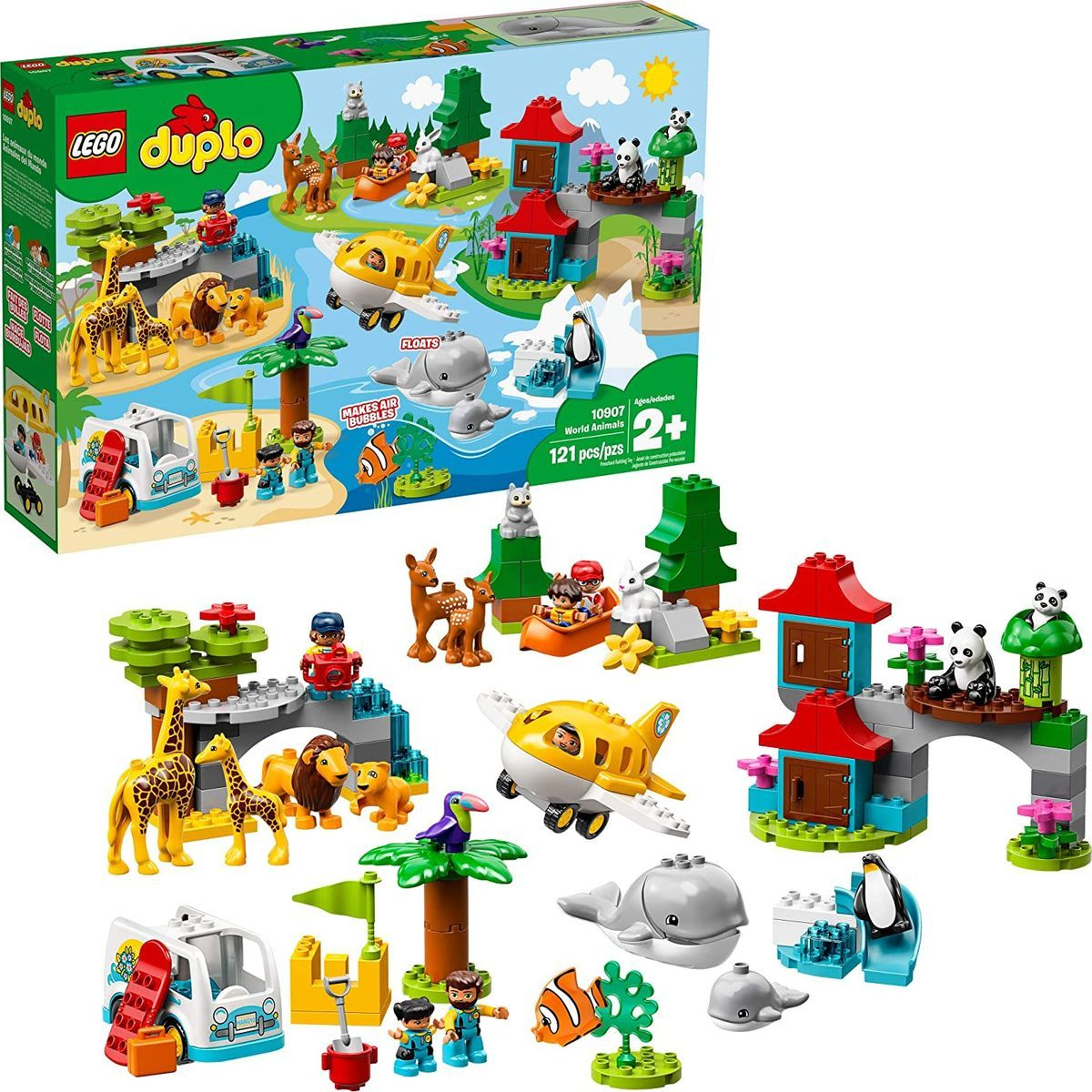 LEGO® DUPLO® Town 10907 Zvieratá sveta