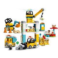 LEGO® DUPLO® Town 10933 Stavba s věžovým jeřábem 5