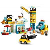 LEGO® DUPLO® Town 10933 Stavba s věžovým jeřábem 4