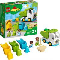 LEGO® DUPLO® Town 10945 Smetiarske auto a recyklovanie