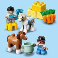 LEGO® DUPLO® Town 10951 Stajňa s poníkmi 6