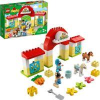 LEGO® DUPLO® Town 10951 Stajňa s poníkmi