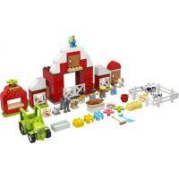 LEGO DUPLO Town 10952 Stodola,traktor a zvieratká z farmy
