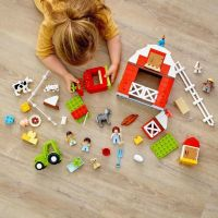 LEGO DUPLO Town 10952 Stodola, traktor a zvířátka z farmy 4