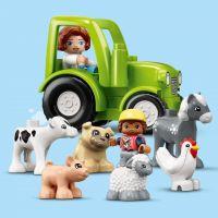LEGO DUPLO Town 10952 Stodola, traktor a zvířátka z farmy 6