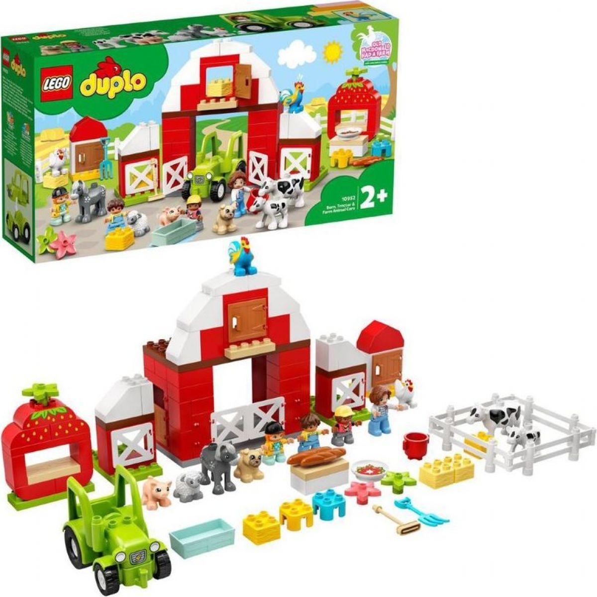 LEGO® DUPLO® Town 10952 Stodola,traktor a zvieratká z farmy