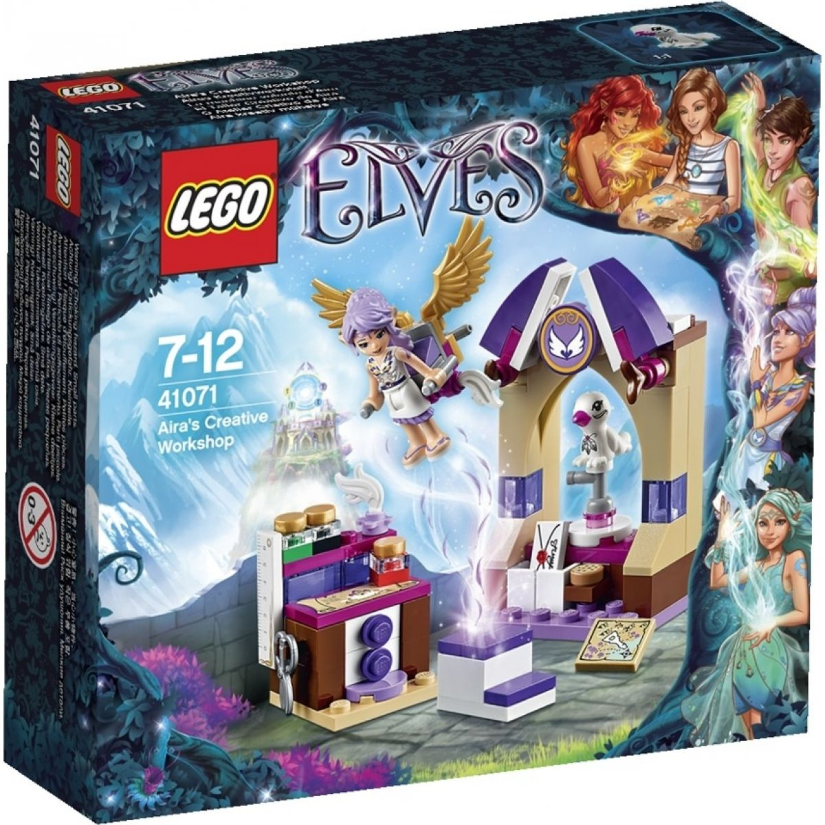 LEGO Elves 41071 - Aira a její tvůrčí dílna