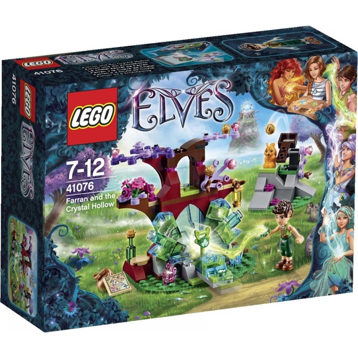 LEGO Elves 41076 - Farran a křišťálová jáma