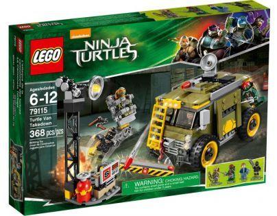 LEGO Želvy Ninja 79115 Zničení želví dodávky