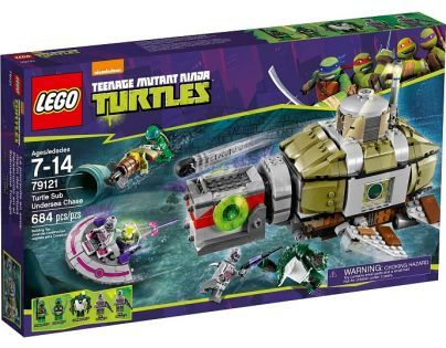 LEGO Želvy Ninja 79121 Želví podmořská honička - Poškozený obal