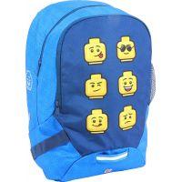 LEGO Faces Blue batoh