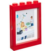 LEGO fotorámeček červená