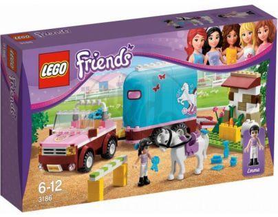 LEGO Friends 3186 Emmin přívěs pro koně