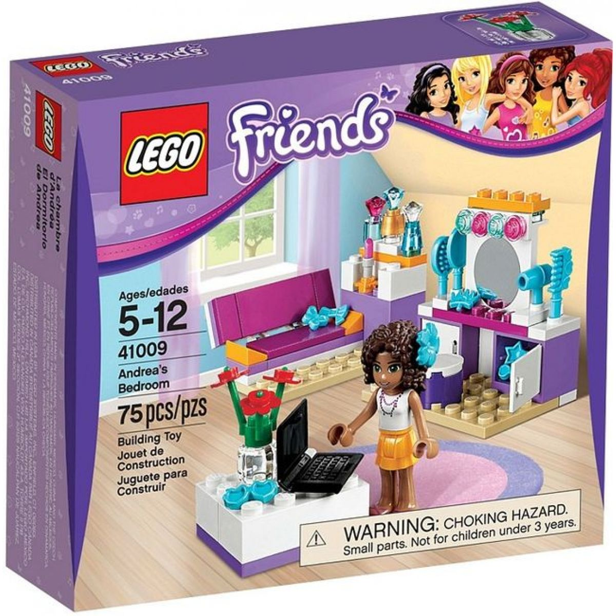 LEGO Friends 41009 Pokojíček Andrey