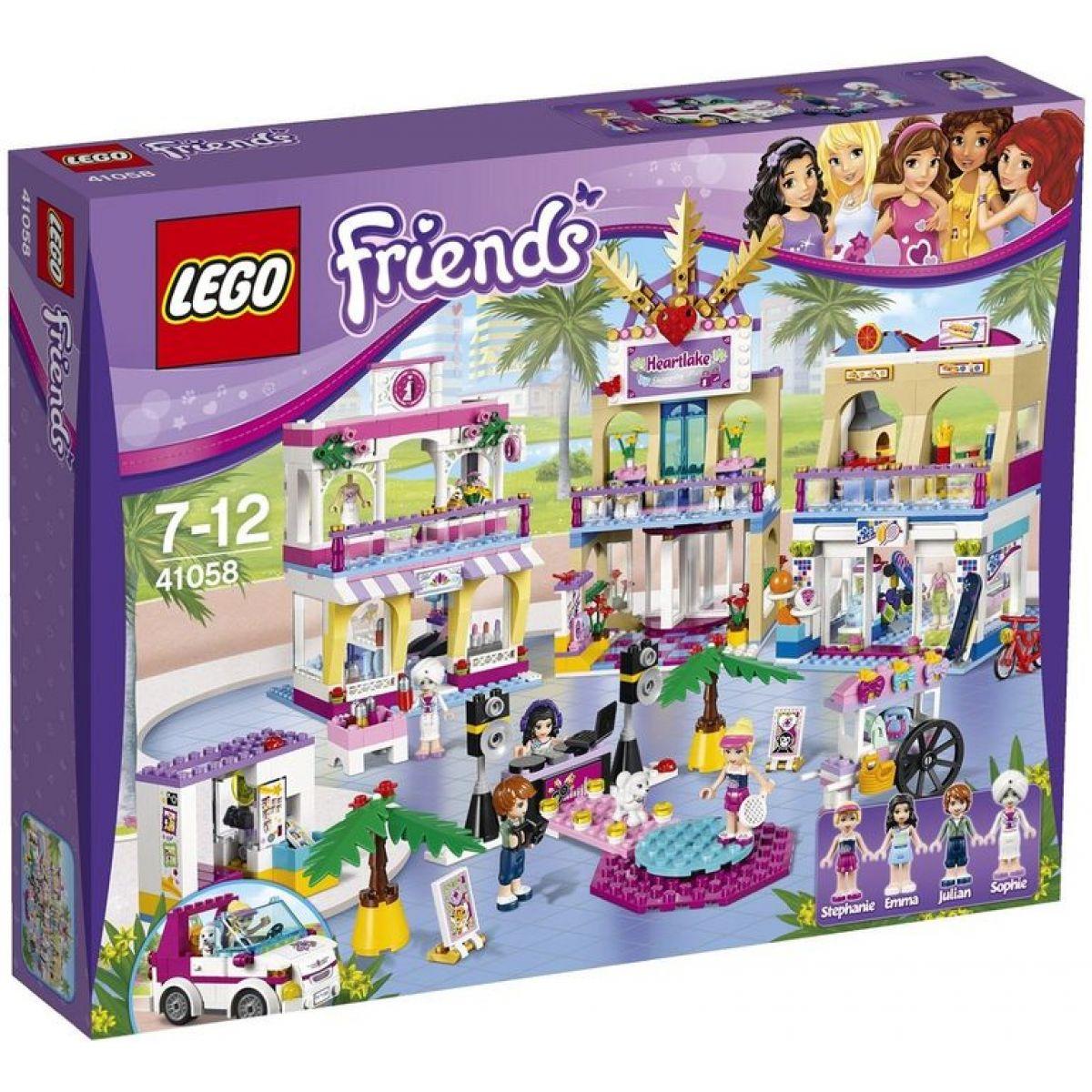 LEGO Friends 41058 - Obchodní zóna Heartlake