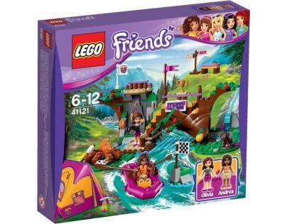 LEGO Friends 41121 Dobrodružný tábor Jízda na divoké vodě