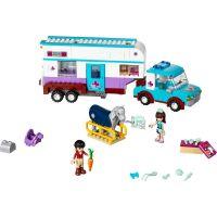 LEGO Friends 41125 Veterinářský přívěs s koněm 2