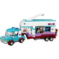 LEGO Friends 41125 Veterinářský přívěs s koněm 3