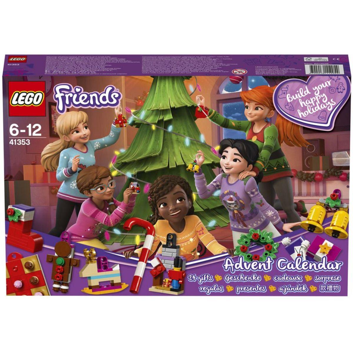 LEGO Friends 41353 Adventní kalendář - Poškozený obal