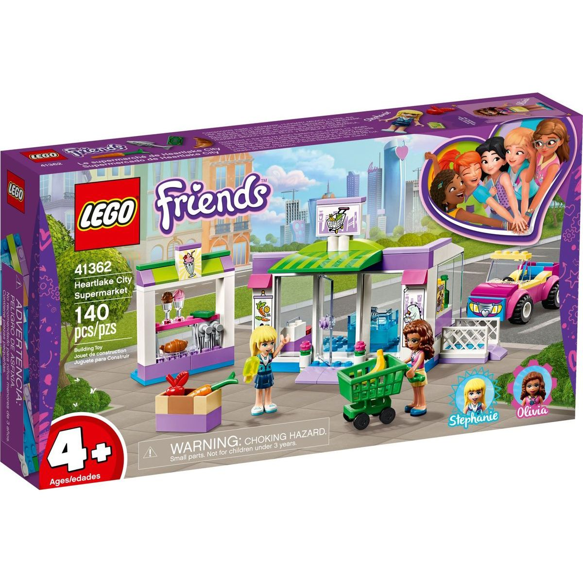 LEGO Friends 41362 Supermarket v městečku Heartlake