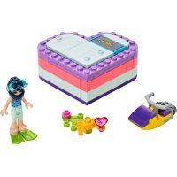 LEGO Friends 41385 Emma a letní srdcová krabička 2