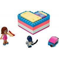 LEGO Friends 41387 Olivia a letní srdcová krabička 2