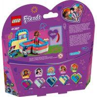 LEGO Friends 41387 Olivia a letní srdcová krabička 3