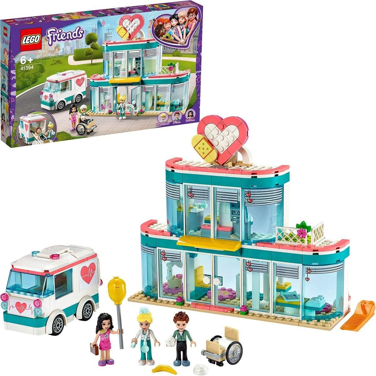 LEGO® Friends 41394 Nemocnica v mestečku Heartlake