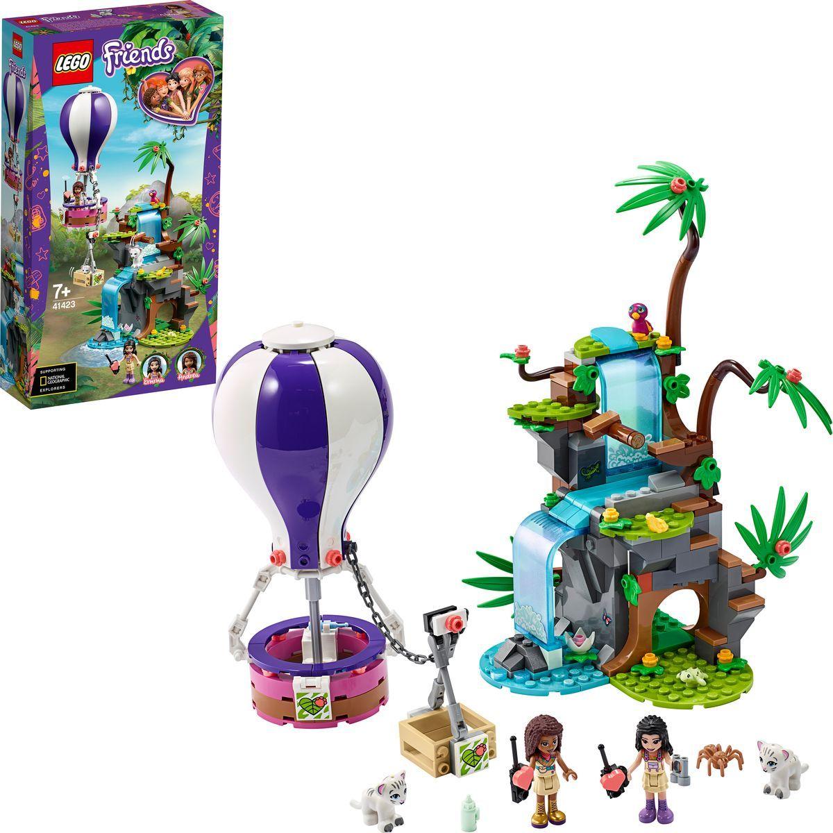 LEGO® Friends 41423 Záchrana tygra v džungli