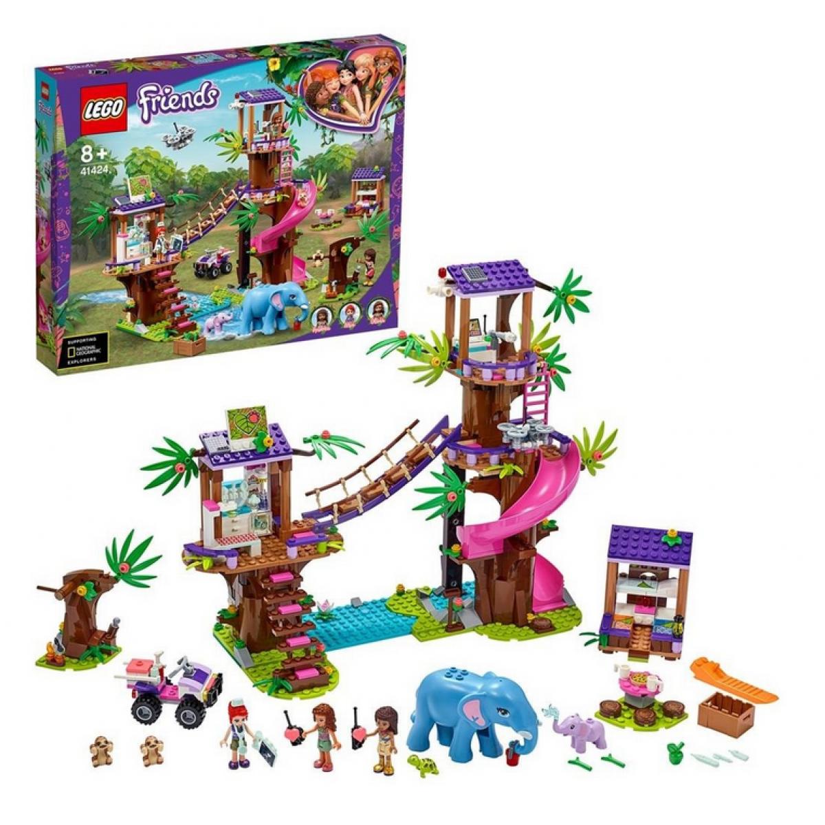 LEGO® Friends 41424 Základňa záchranárov v džungli