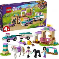 LEGO® Friends 41441 Auto s prívesom a výcvik koníka