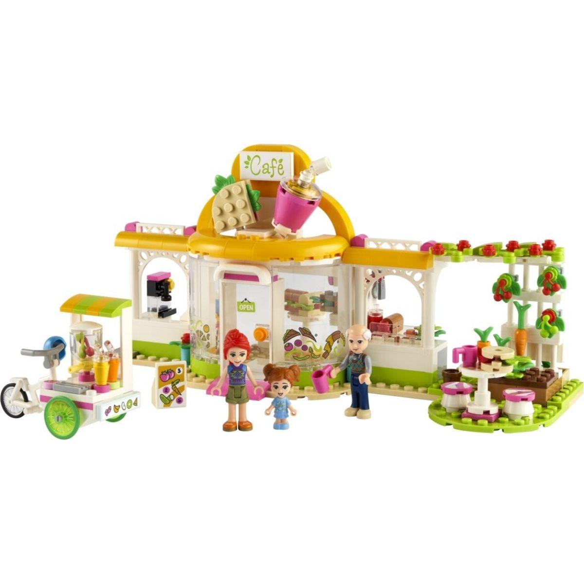 LEGO Friends 41444 Bio kavárna v městečku Heartlake