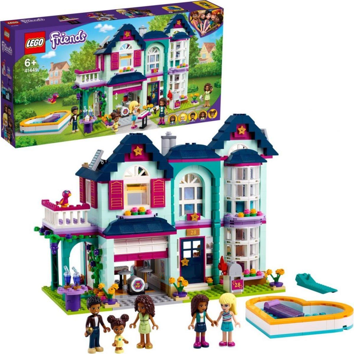 LEGO® Friends 41449 Andrea a jej rodinný dom