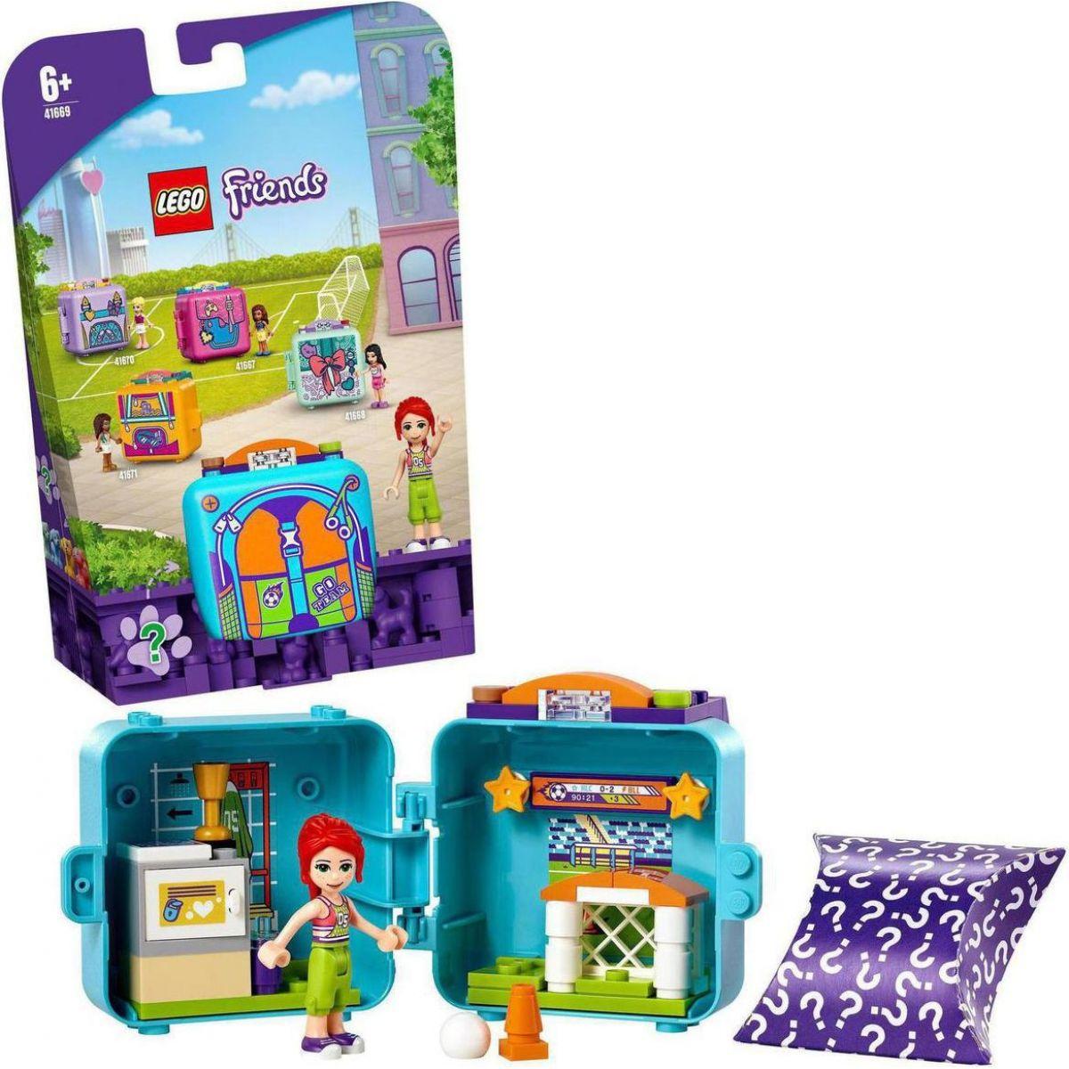 LEGO® Friends 41669 Miin futbalový boxík