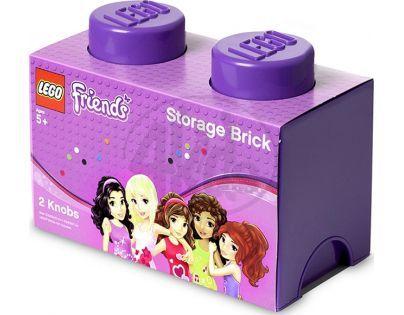 LEGO Friends Úložný box 125x252x181mm - Fialový