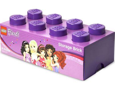 LEGO Friends úložný box 250x502x181 mm - Fialová