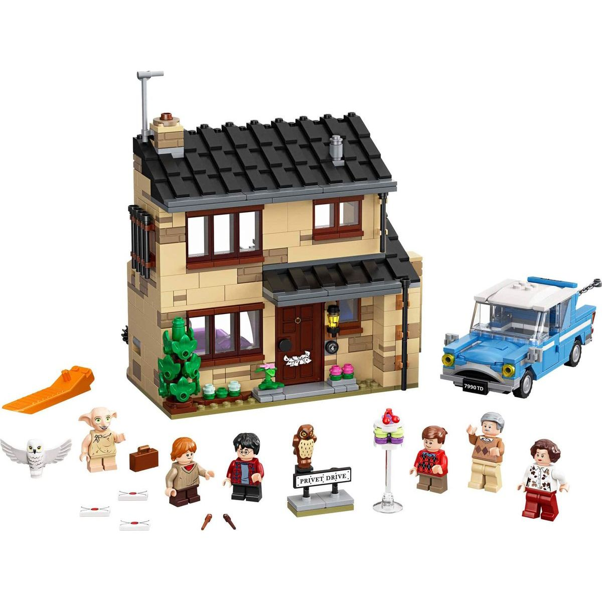 LEGO Harry Potter TM 75968 Zobí ulice 4