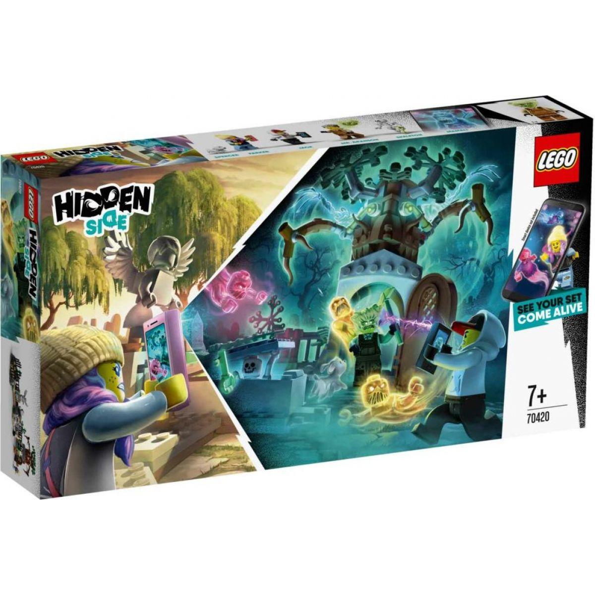 LEGO Hidden Side 70420 Záhada na hřbitově