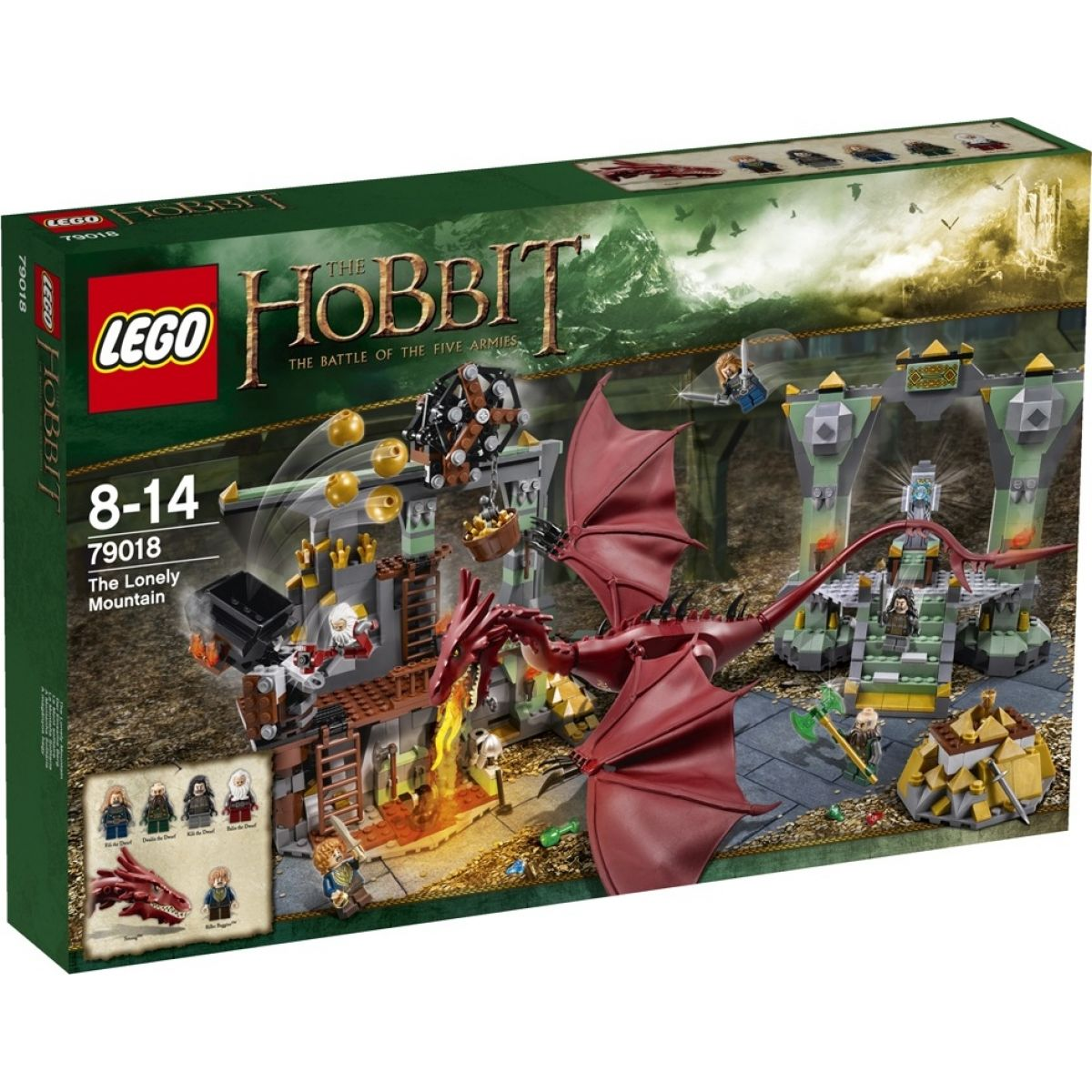 LEGO Hobbit 79018 - The Lonely Mountain