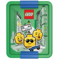 LEGO Iconic Boy box na svačinu modrozelená