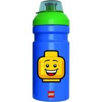 LEGO Iconic Boy fľaša na pitie transparentná modrozelená