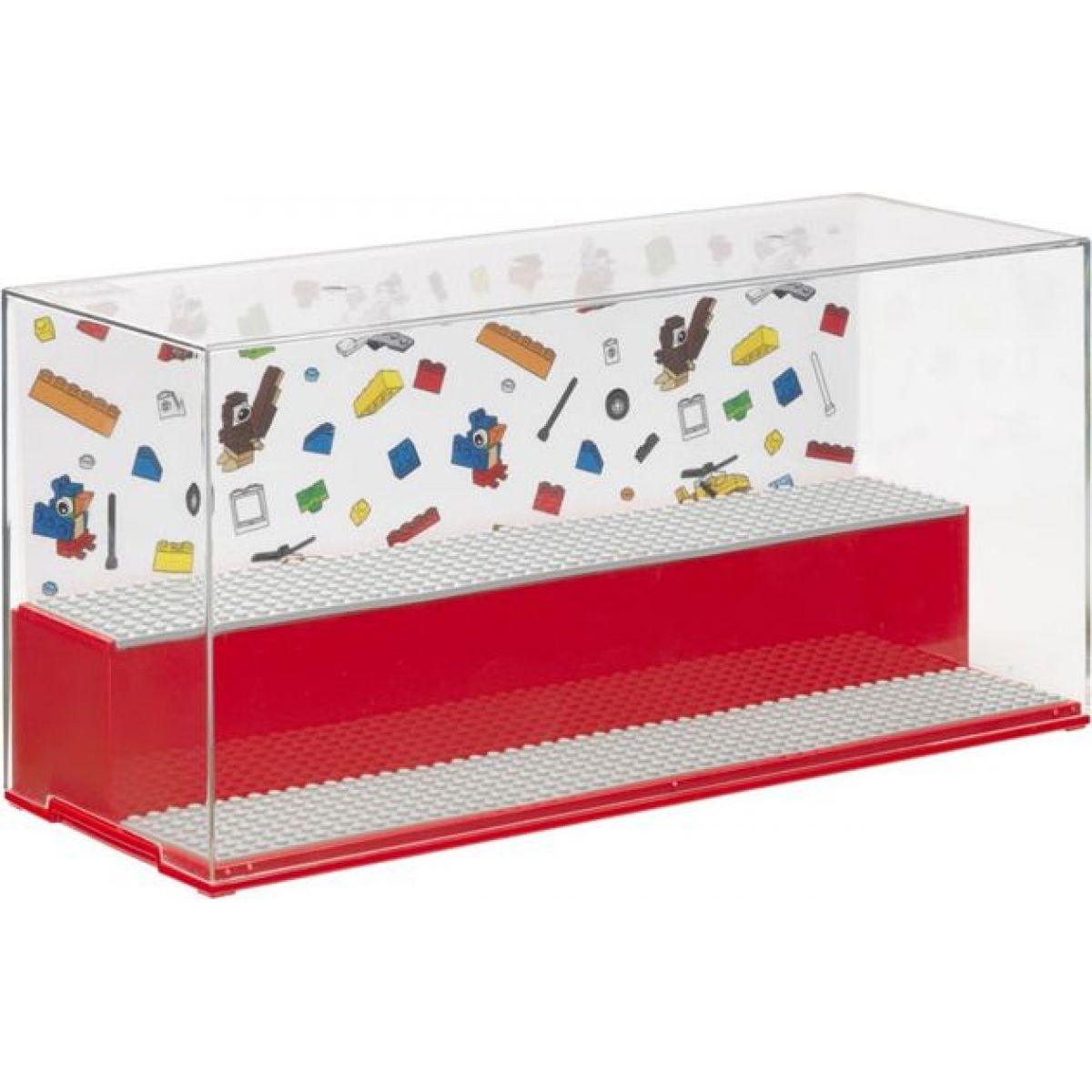 LEGO Iconic herní a sběratelská skříňka červená