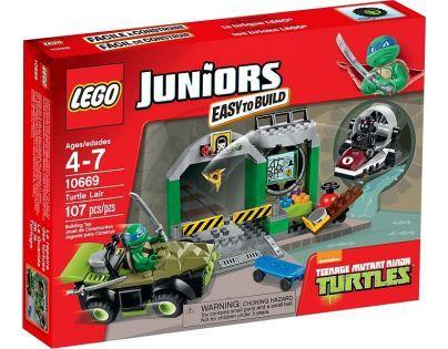 LEGO Juniors 10669 - Želví doupě