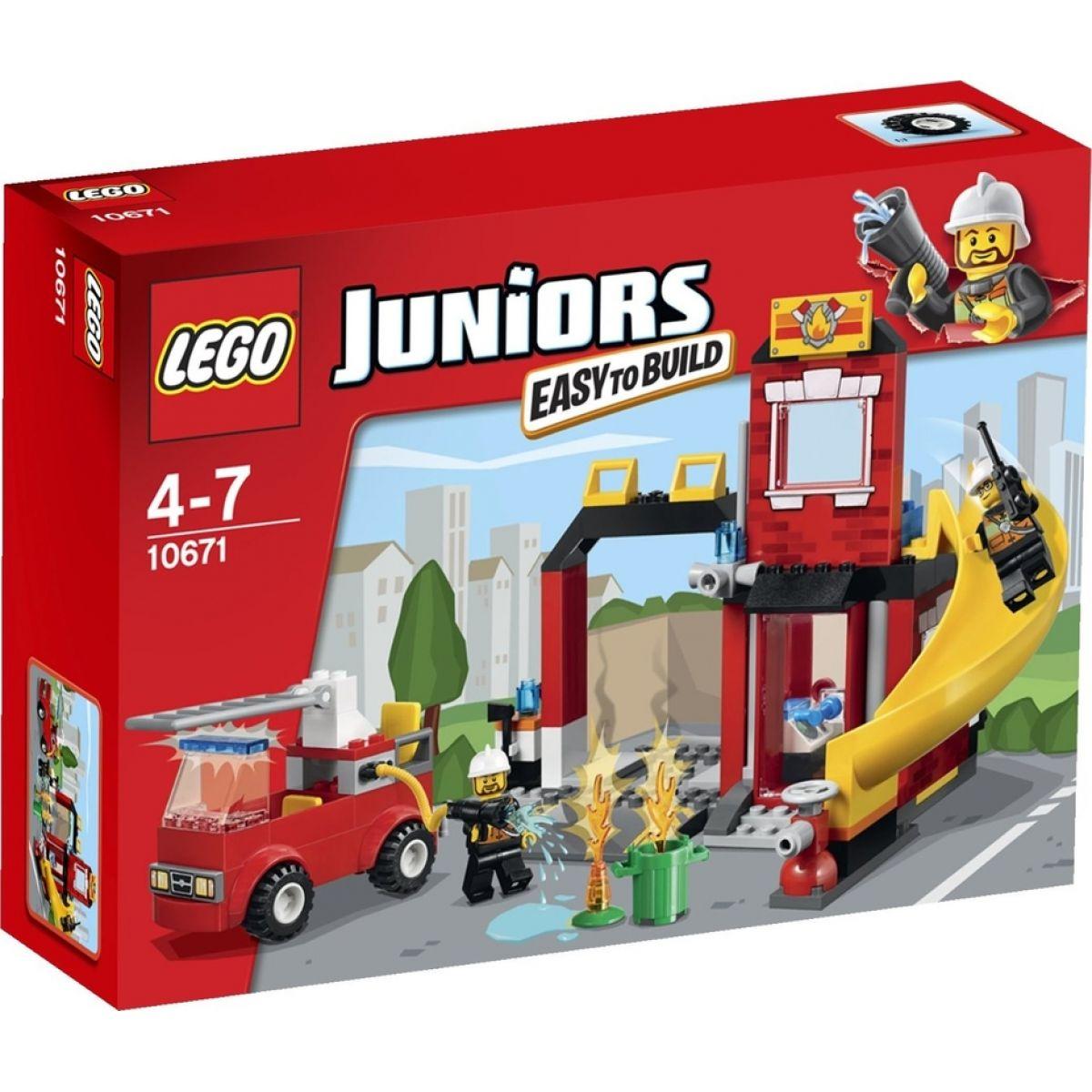 LEGO Juniors 10671 - Hasičská pohotovost