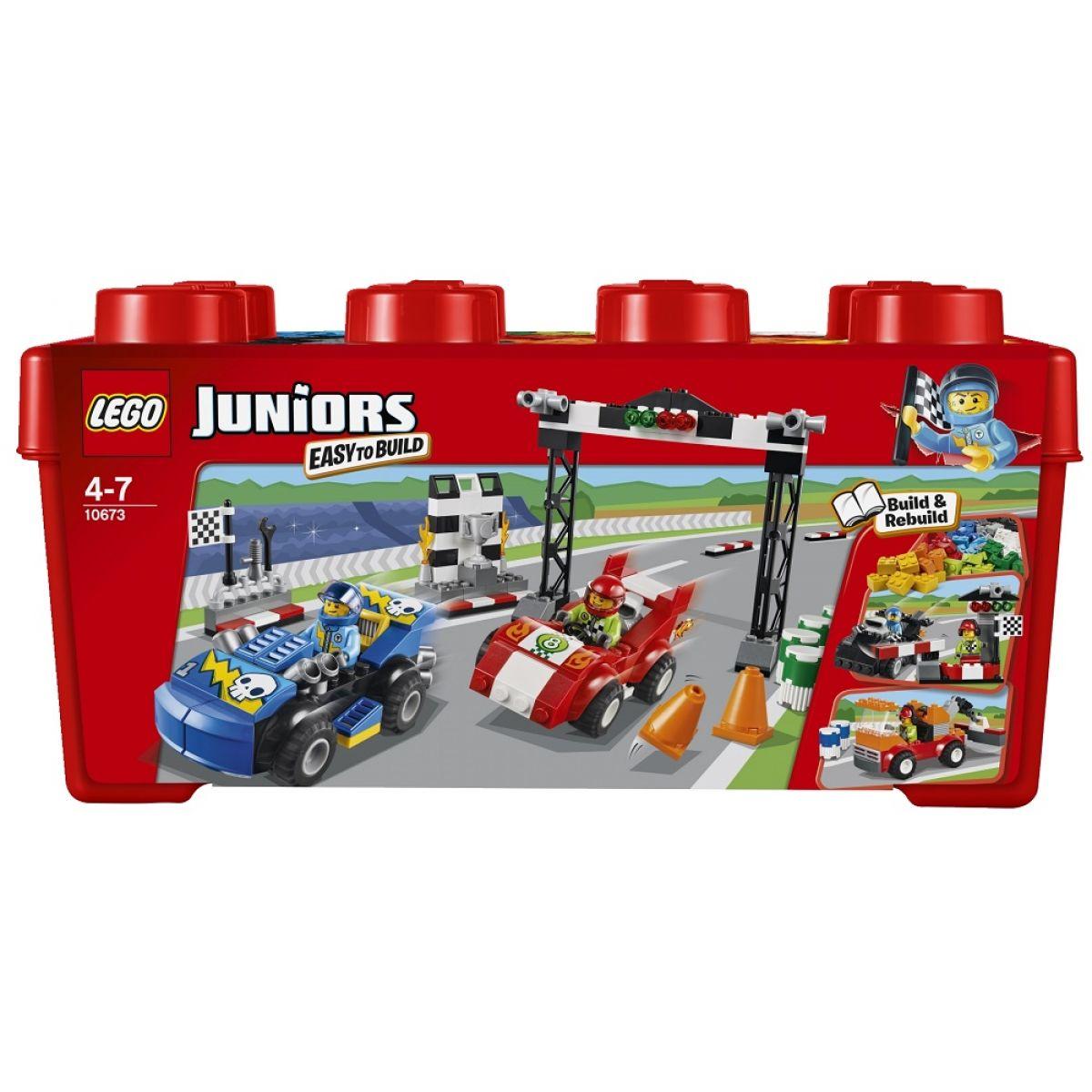LEGO Juniors 10673 Závodní rallye