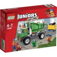 LEGO Juniors 10680 - Popelářské auto