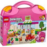 LEGO Juniors 10684 - Supermarket v kufříku
